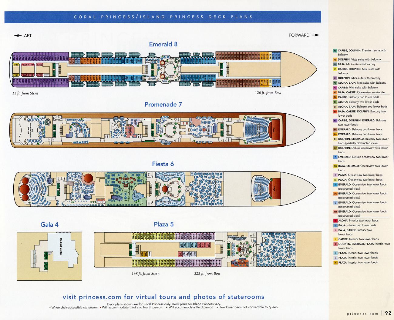 Coralprincess middle decks lower decks baanklon Gallery